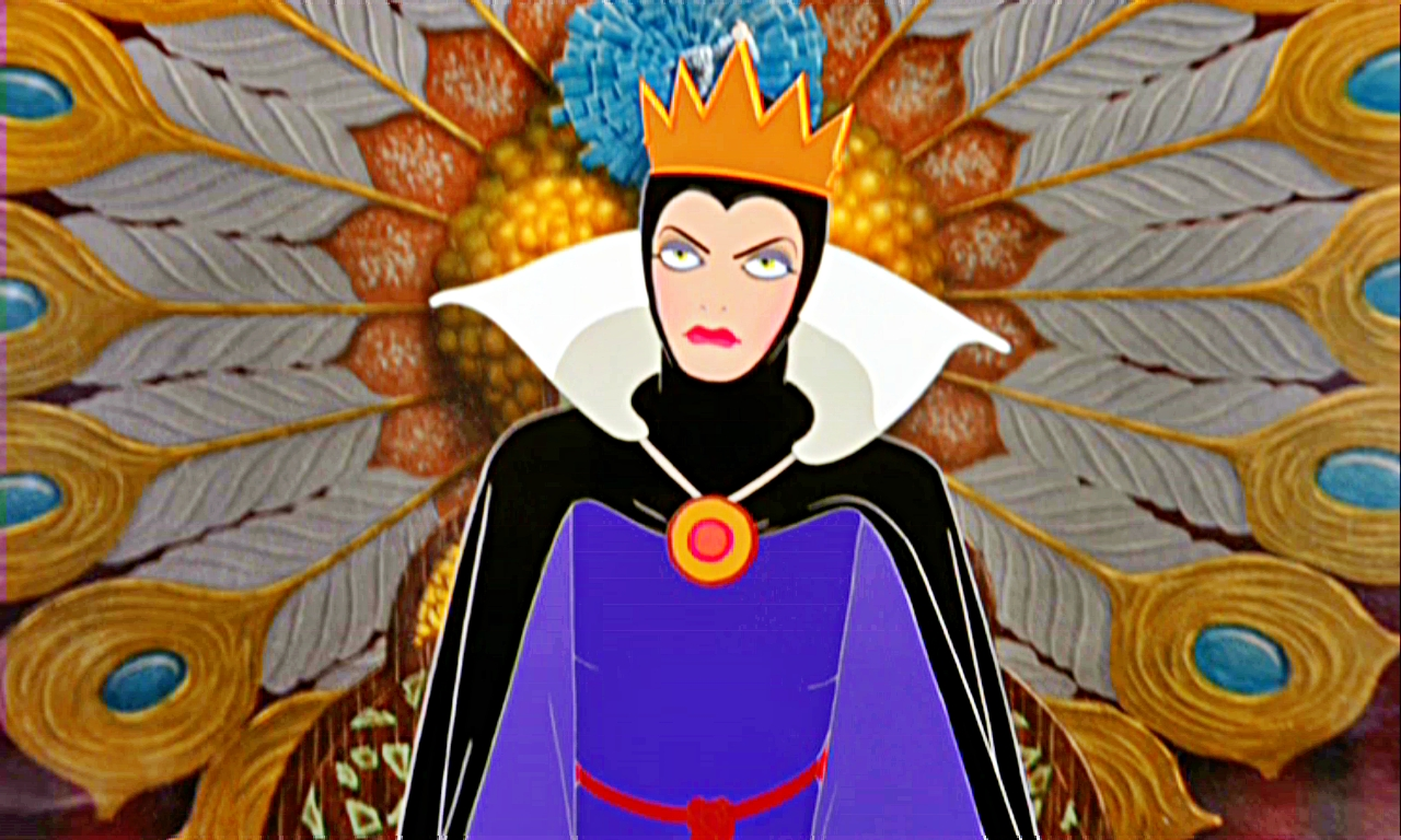 Evil Queen looking annoyed and bored. But if she'd asked the five why's she wouldn't be relying on her bad data heart in a box metric