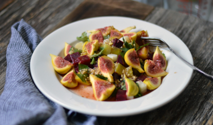 Beetroot, Celeriac and Fig Salad